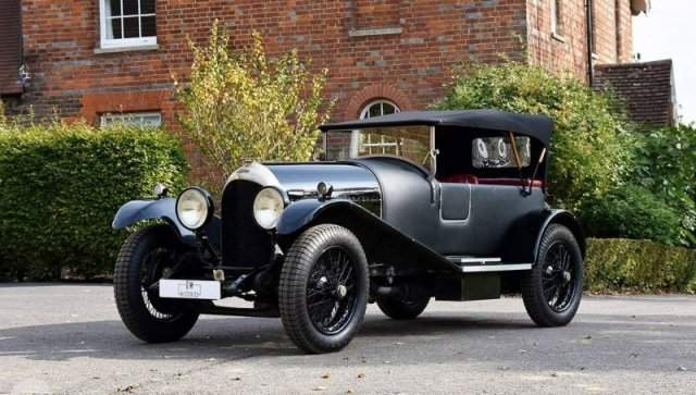 Bentley 3-Litre 1924 вид